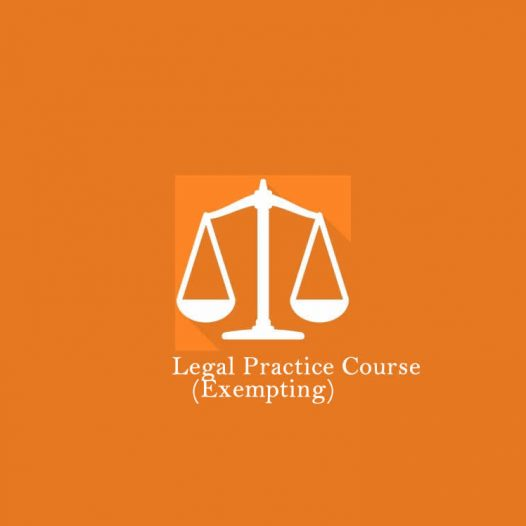 LLB (Hons) Legal Practice (Exempting)